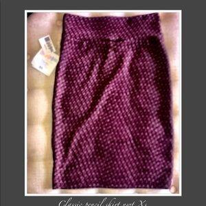 Dresses & Skirts - LuLaRoe XS pencil skirt NWT